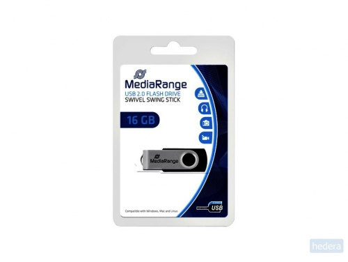 USB-stick 2.0 MediaRange 16GB